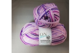 Supersocke Beach Color 2616 paars-lila