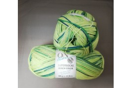 Supersocke Beach Color 2617 groen