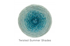 Twisted Summer Shades 1001 turquoise naar grijs