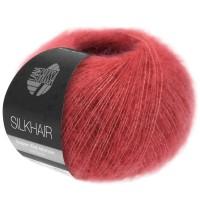 Silkhair kleur 164 frambozerood