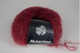 Mohairlana 012 burgund rood
